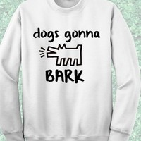 Keith Haring Dogs Gonna Bark Sweatshirt – Mpcteehouse.com