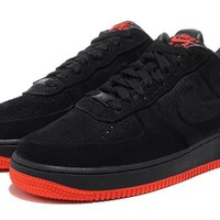 Nike Air Force 1 Low Black For Women Men Running Sport Casual Shoes Sneakers