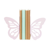 Wing Bookends - Pink