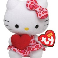 Ty Beanie Babies Hello Kitty - Red Heart