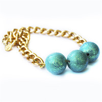 Orb Necklace (turquoise)