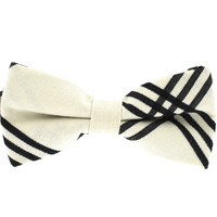 Tok Tok Designs Pre-Tied Bow Tie for Men & Teenagers (B392, 100% Cotton)