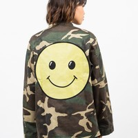 Army Printed Graphic Jacket