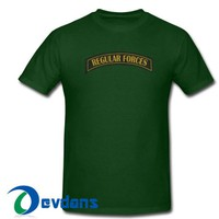 Regular Forces T Shirt Women And Men Size S To 3XL