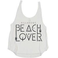 Billabong The Wave It Is Tank - White - J4242THE				 |  			Billabong 					US
