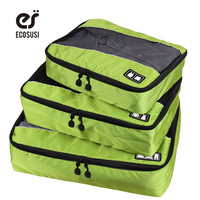 Ecosusi Solid Polyester Travel Bags For Men In0200040
