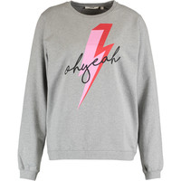 Grey Lightning Print Jumper - Hoodies & Sweatshirts - Clothing - Women - TK Maxx