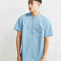 CPO Denim Short-Sleeve Popover Shirt