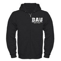 BAU Criminal Minds Zip Hoodie (dark) on CafePress.com
