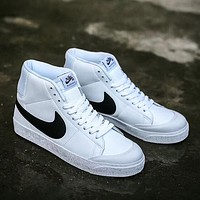 NIKE SB BLAZER ZOOM MID Woman Men Fashion High-Top Flats Shoes