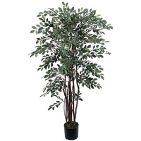 SheilaShrubs.com: 4' Ruscus Silk Tree 5082 by Nearly Natural : Artificial Flowers & Plants