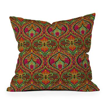 Aimee St Hill Ogee Orange Throw Pillow
