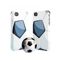 Smooth Protection Soccer Leather iPhone4/4 S Case