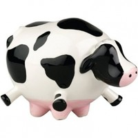 Boston Warehouse Udderly Cows Scrubby Holder
