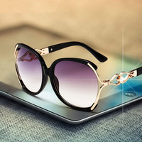 Fashion Brand Design Sunglasses Women Mirror Sunglass Female Sun Glasses For Women Vintage Oversized Driving Lady Sunglass 2016