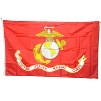 New 90*150cm American Army USA United States Marine Corps-USMC Polyster Flag Banners 3*5 Feet
