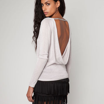 Bershka United Kingdom - Bershka open back sweater