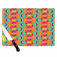 "Miranda Mol ""Summer Fun"" Treal Orange Cutting Board"