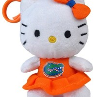 FLORIDA GATORS HELLO KITTY KEYCHAIN