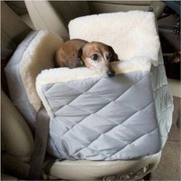 Snoozer Lookout I Pet Car Seat, Small, Baby Pink