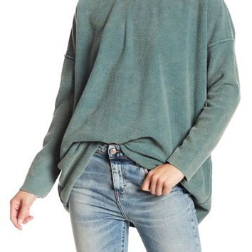 Free People   Washed Ashore Crew Neck Pullover   Nordstrom Rack