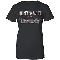 Flower Hunt Wife Most Patient Married To The Dedicated Hunter