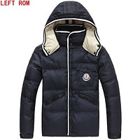2017 new Brand winter warm for men hooded coats casual mens thin coat male slim casual padded down outerwear Down jacket male