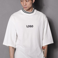 LOGO Turtleneck Top