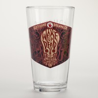 Left Hand Wake Up Dead Pint Glass, Set of 4