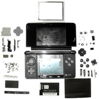 Replacement Full Housing Case for Nintendo 3DS (Black)