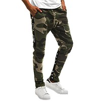 Men's Casual Camouflage Overalls