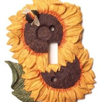 Lightswitch Sunflower Kitchen Decor Single Light Switch Plate Cover