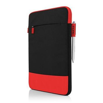Incipio Asher Nylon Protective Sleeve Case for Microsoft Surface 3 Red Black