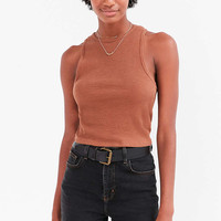 BDG Bitty Cropped Tank Top - Urban Outfitters