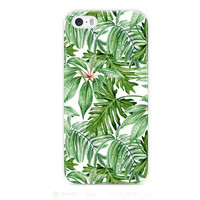Green Tree Printed Iphone Case