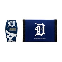 Detroit Tigers Lil' Sport Watch & Trifold Wallet Gift Set - Kids (Tgr Team)