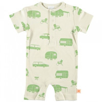 TinyCottons Camping Print Romper
