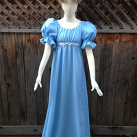 Wendy Darling Peter Pan Couture Costume Nightgown Adult Cosplay Costume