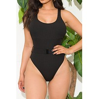 Tropic Point One Piece Swimsuit Black