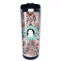 Zombies Love Me Brain Food Cute Coffee Mugs Cool Travel Coffee Mug Custom Cup We Bare Bears