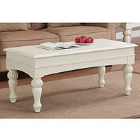 Metro Shop Vanilla Wasatch Coffee Table Solid Wood Office Tables Gift New Free