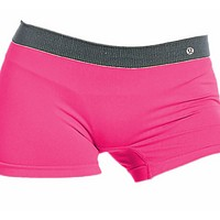 LULULEMON. a one-piece trackless, anti-glare, anti-glare, anti-bacterial ladies' boxer shorts.RED