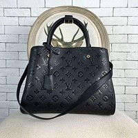 LV Louis Vuitton Classic Ladies Tote Bag Shoulder Messenger Bag Shopping Bag 1