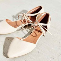 Jeffrey Campbell Enamored Cutout Flat