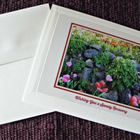RECOVERY Photo CARD for Anyone; handmade, blank inside, with coordinating envelope