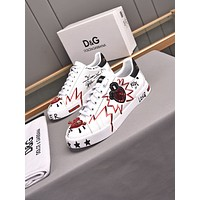 D&G  Men Fashion Boots fashionable Casual leather Breathable Sneakers Running Shoes 01