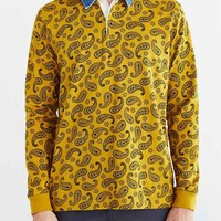 Stussy Simple Paisley Polo Shirt