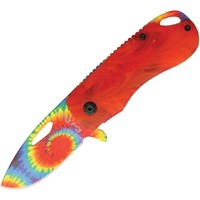 Tie Dye Knife- Red
