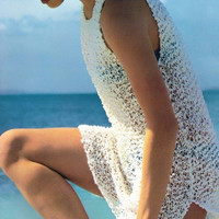 Swimsuit Cover Up ~ KarBluenic Tunic