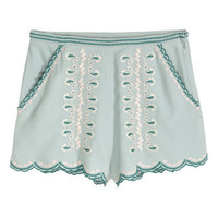 H&M Embroidered Shorts $29.99